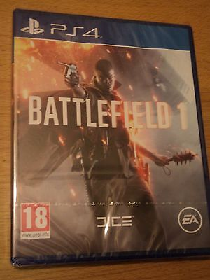Battlefield 1 (Ps4) Brand New And Factory Sealed