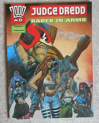 Judge Dredd - Babes In Arms (Graphic Novel): Near Mint