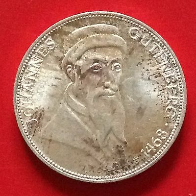 1968 G Germany Silver 5 Mark Coin