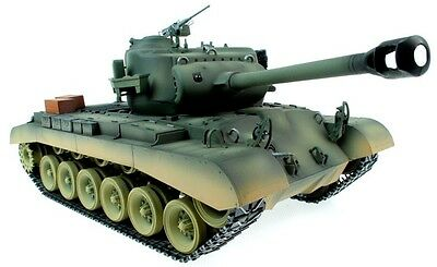 Taigen Hand Painted RC Tanks - Metal Upgrade - M26 Pershing - WITH FREE EXTRA BB