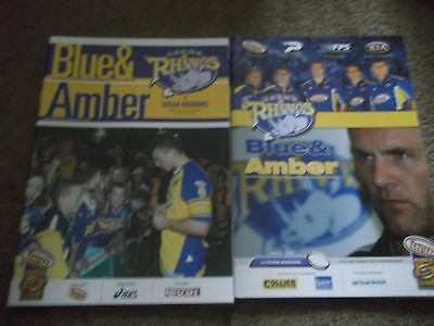 Leeds Rhinos V Wigan Warriors Grand Final Elimination Semi Final 10Th Oct 2003