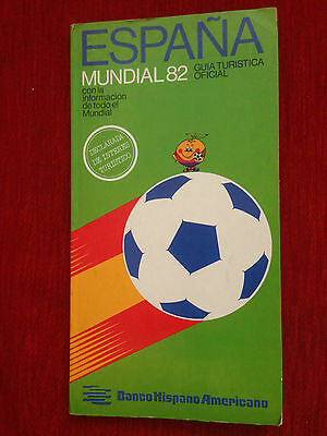 Programme Official World Cup Spain 82 1982 Mudial España Very Rare!!!!
