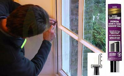 Sashseal window seal gap filler draught excluder sash weather proofing gapseal