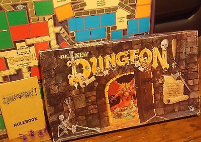 The New Dungeon Boardgame 1989 TSR (Dungeons & Dragons) 99% Complete