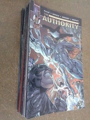 THE AUTHORITY vol. 1 - Colección completa, 34 números