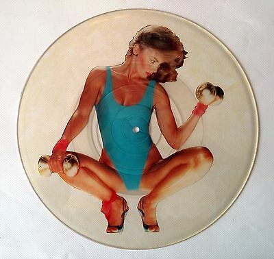 """W.a.s.p. Wasp - 95 Nasty - 7"""" 1986 - Megarare Picture Disc Uncut - Only Few Made"""