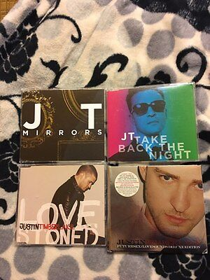 Justin Timberlake LOT SINGLES RARE FUTURESEX LOVESOUNDS DELUXE SEXY