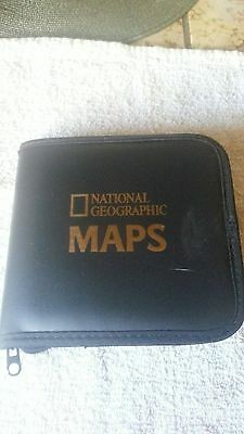 National Geographic Maps 8 Cd Collection For Windows 95-98 Compatiable W/case