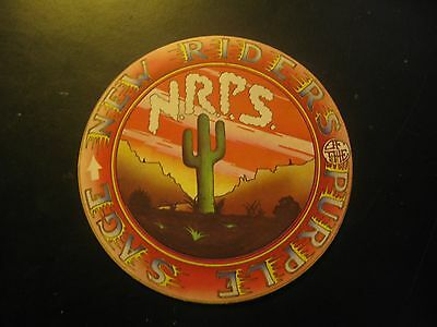 New Riders of the Purple Sage Lot of 8 Stickers 1970's RARE