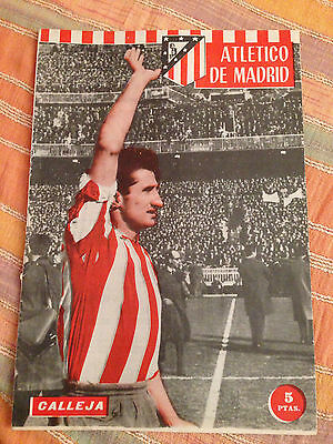 Leicester England Atletico Madrid Spain Winners Cup 1961 1962