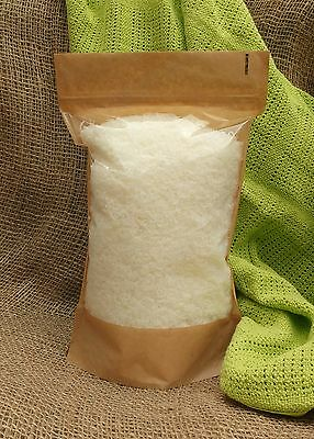 Natural laundry soap flakes. Pure vegan soap 500g, suitable for outdoor clothes.