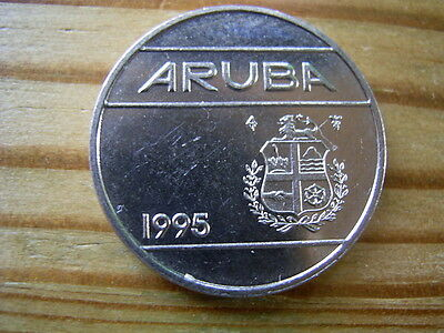 1995  Iceland 25 cent Coin collectable