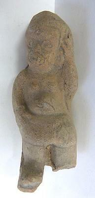 "Pre-Columbian Olmec Pottery Figure -Mesoamerica -4"" Tall -Ex Mcintyre Collection • CAD $95.68"