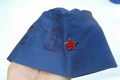 Socialist Yugoslavia hat cap of Tito pioneers and workers badge pin Serbia Croat