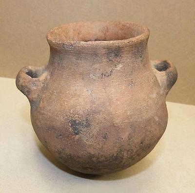 3  Pre-Columbian  Mesoamerica Pottery Pots -Ex Mcintyre Collection