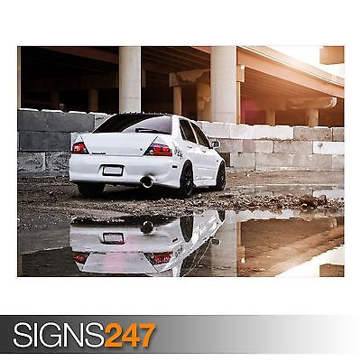 Photo Poster Print Art * All Sizes CAR POSTER AA382 LANCER EVOLUTION RALLY