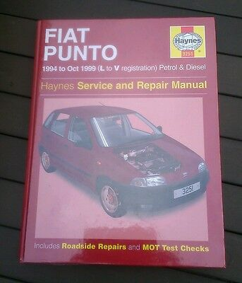 Fiat punto Haynes workshop manual petrol & diesel 1994-1999 new sealed