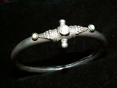 Dark ages Middle eastern slave Bangle type Very old 1.5 Ounces of Solid Silver