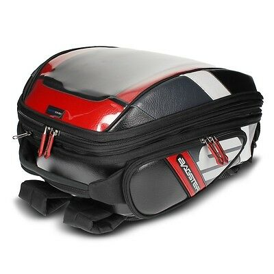Bagster Stunt Pvc Bag For Tank Covers Or Easy Harness -Blk/red 21-32 L Capacity