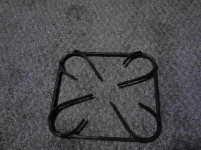 vintage commercial gas stove cast iron grate 7.3/4 x 8.3/4 x 1.1/8 thick