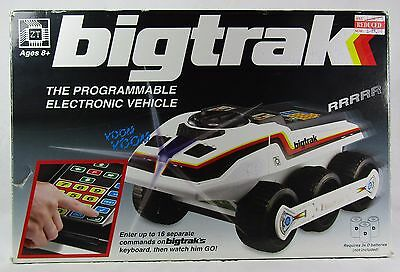 Big Trak Programmable Vehicle in Box With Manual