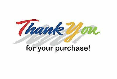 "50 Ebay Pre Printed 4 x 6 Postcards, Great Easy way to say ""Thank You"""