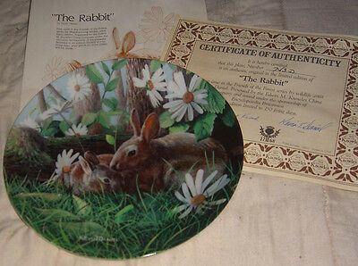 The Rabbit. Friends of the Forest Series. Edwin M Knowles China Company.