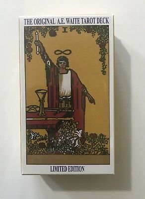 +Rider Waite Original Tarot Cards NEW & SEALED+A.E.Waite & Pamela Colman Smith