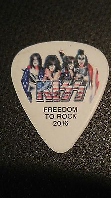 Kiss Freedom to Rock guitar pick