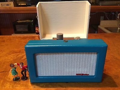 1955 RCA Victrola  6-EY-3B 45 rpm Record Player Totally Restored Watch It Play