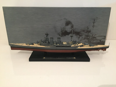 HMS Hood Model on Base 1:1250 Scale GM102 New