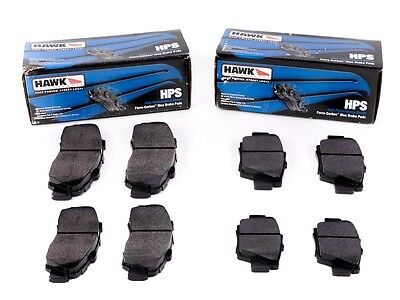 Rear Skyline GTR GT-R R33 R34 V-Spec Hawk HPS Brake Pads Front