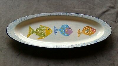 large FISH platter - World Market - Made in ITALY - NWT