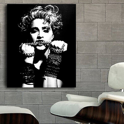 Poster Mural Madonna Musician Pin Up Model 40x48 inch (100x121cm) Adhesive Viny