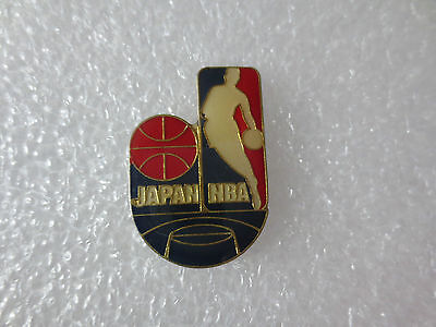 Japan Nba National Basketball Association Pin Badge, Japanese Sport Memorabilia.