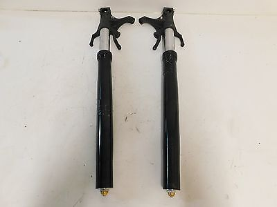2004 - 2006 Yamaha Yzf R1 Front Forks Suspension Tubes Set *straight* Oem Used