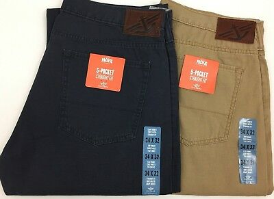 Dockers Levi's Genuine D2 5-Pocket Straight Fit Flat Front Jeans / Pants/ Chinos