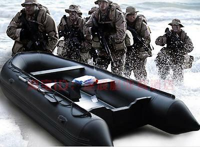 1.2mm PVC 10 ft  Military Heavy Duty Inflatable Boat - V300 ( Seal Team Boat )