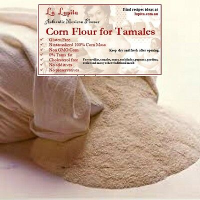 Corn Flour for Tamales Gluten Free 1Kg