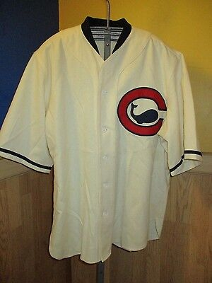 Ebbets Field Flannels VINTAGE Chicago Wales CHICAGO CUBS 1915 sizeXL WOOL JERSEY