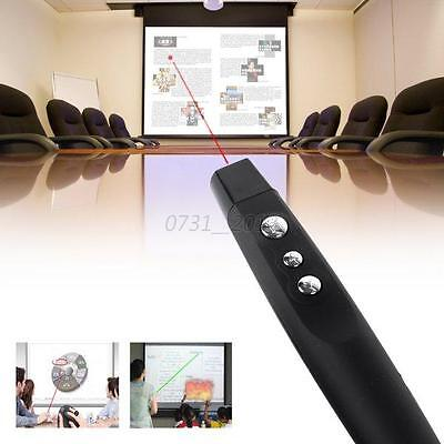 RF Wireless Remote Control  USB PowerPoint PPT Presenter Desktop Laser Pointer
