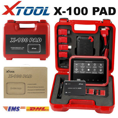 XTOOL X-100 PAD Tablet OBDII Auto Programmer with EEPROM Adapter Multi-Functions