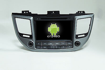 Android 6.0 Quad Core Car Dvd Gps Navi Player For  Hyundai IX35 Tucson 2015 2016