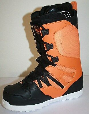 Thirty Two Mens Light'14 Snowboard Boots Black Orange Size 9