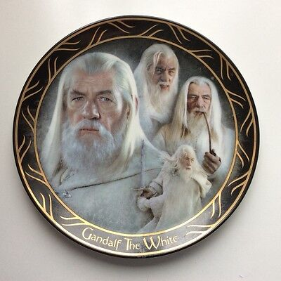 Lord of the Rings Plate: Gandalf the White