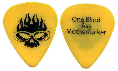 THE OFFSPRING Guitar Pick : 2000s Tour - One Blind yellow