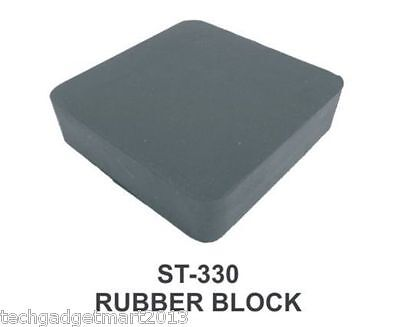 "RUBBER BENCH BLOCK FOR JEWELERS 6X4X1"" st330-6x4x1"