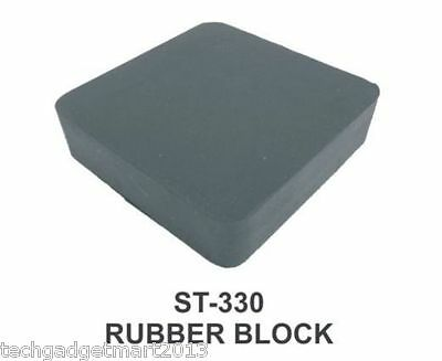 "RUBBER BENCH BLOCK FOR JEWELERS 2X2X1"" st330-2x2x1"