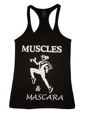 Woman's Tank Top Crossfit Stringer Muscle Racerback Bodybuilder Gym Shirt