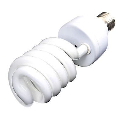 45W 220V E27 CFL Light 5500K Daylight Photo Studio Spiral Bulb Lamp Photography